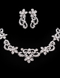 Gorgeous Alloy/Rhinestones Women's Jewelry Sets (011019278)