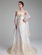 Tulle Wedding Shawl (013022580)