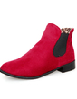 Suede Flat Heel Ankle Boots shoes (088055063)