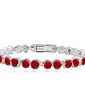 Tennis Alloy With Crystal Women's Bracelets (011037129)