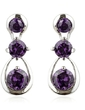 Beautiful Alloy/Cubic Zirconia Ladies' Earrings (011036685)