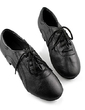 Men's Kids' Real Leather Flats Latin Ballroom Practice Character Shoes Dance Shoes (053013126)
