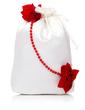 Gorgeous Satin With Flower/Imitation Pearl Bridal Purse (012029577)