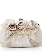 Gorgeous Satin/Tulle With Flower Clutches (012005448)