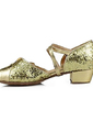 Kids' Sparkling Glitter Sandals Latin Modern Ballroom With Bowknot Dance Shoes (053013159)