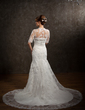 Half-Sleeve Lace Wedding Wrap (013014590)