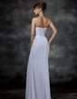 Trumpet/Mermaid Sweetheart Floor-Length Chiffon Evening Dress With Ruffle (017022546)