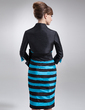 Wąska Do Kolan Taffeta Suknia dla Mamy Panny Młodej (008006280)