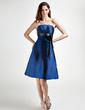Imperialna Bez ramiączek Do Kolan Taffeta Suknia dla Druhny (022015815)