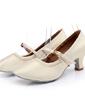 Women's Leatherette Heels Ballroom Dance Shoes (053036826)