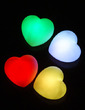 Color changing Heart Shaped LED Lights (Set of 4 in Assorted Colors) (131036837)