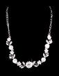Flower Shaped Alloy/Rhinestones Ladies' Jewelry Sets (011028418)