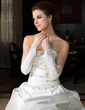 Elastic Satin Opera Length Party/Fashion Gloves/Bridal Gloves (014036644)