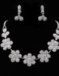 Beautiful Alloy/Rhinestones Women's Jewelry Sets (011019344)