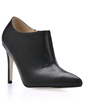 Leatherette Stiletto Heel Closed Toe Ankle Boots (088017205)
