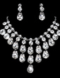 Beautiful Alloy/Rhinestones Ladies' Jewelry Sets (011019374)