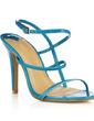 Patent Leather Stiletto Heel Sandals Slingbacks shoes (087016984)