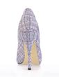 Leatherette Stiletto Heel Pumps Peep Toe shoes (085017005)