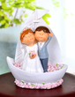 Looking Forward to the Future Resin Wedding Cake Topper (119037332)