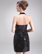 Kılıf Yular Kısa/Mini Sequined Kokteyl Elbisesi (016008332)