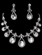 Beautiful Alloy/Rhinestones Women's Jewelry Sets (011019387)