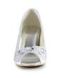 Women's Satin Stiletto Heel Peep Toe Sandals With Beading Rhinestone (047015279)