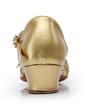 Women's Kids' Sparkling Glitter Heels Ballroom With Bowknot Dance Shoes (053036861)