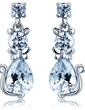 Alloy With CZ Cubic Zirconia Women's Fashion Earrings (011036698)