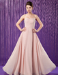 A-Line/Princess Sweetheart Floor-Length Chiffon Mother of the Bride Dress (008018713)