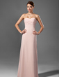 Empire Sweetheart Floor-Length Chiffon Bridesmaid Dress With Ruffle Beading (007001755)