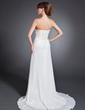 Çan/Prenses Askısız Kısa Kuyruk Chiffon Gelin Annesi Elbisesi Ile Büzgü Boncuklama (008015101)