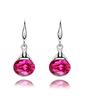 Elegant Alloy With Crystal Women's Earrings (011037050)