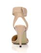 Leatherette Stiletto Heel Pumps Closed Toe Slingbacks shoes (085022611)