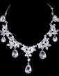 Elegant Alloy/Rhinestones Ladies' Jewelry Sets (011028374)