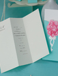 Personalized Floral Style Wrap & Pocket Invitation Cards (Set of 50) (114055016)