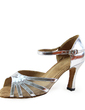 Women's Patent Leather Heels Sandals Latin Wedding Party Dance Shoes (053019985)