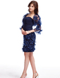 3/4-Length Sleeve Tulle Special Occasion Wrap (013026296)