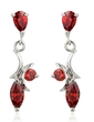 Beautiful Alloy/Cubic Zirconia Ladies' Earrings (011036694)