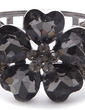 Flower Shaped Alloy Crystal Women's Fashion Bracelets (011033312)