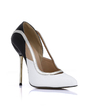 Patent Leather Stiletto Heel Pumps Closed Toe shoes (085022618)