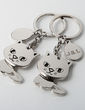 Personalized Kitties Zinc Alloy Keychains (Set of 4) (051028898)