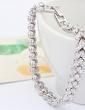 Strand Alloy With Crystal Women's Bracelets (011037140)