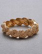 Bangles & Cuffs Alloy With Crystal Bracelets (011033413)
