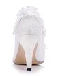 Kadın Satin İnce Topuk Kapalı Toe Pompalar Ile Dikiş Danteli (047056266)