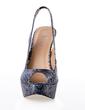 Leatherette Stiletto Heel Sandals Platform Peep Toe With Animal Print shoes (087016991)