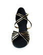 Women's Satin Heels Sandals Latin Dance Shoes (053013360)