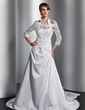 3/4-Length Sleeve Lace Wedding Wrap (013014896)