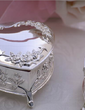 Personalized Heart Shaped Zinc Alloy Jewelry Holders (051029044)