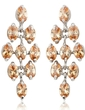 Magnificent Alloy/Cubic Zirconia Ladies' Earrings (011036687)