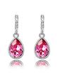 Elegant Alloy/Crystal Women's Earrings (011037023)